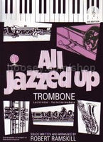 All Jazzed Up (Trombone Treble Clef ) (Book/CD)