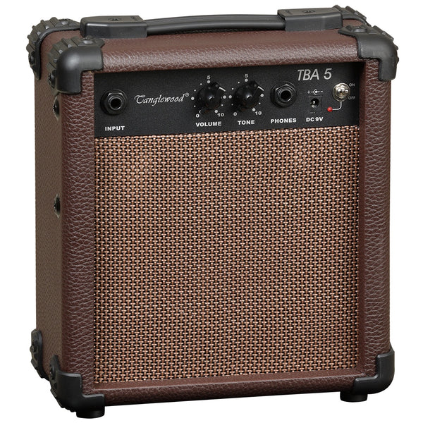 Tanglewood (TBA-5) 5 Watt Battery / Mains Acoustic Amp