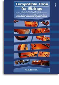 Larry Clark: Compatible Trios for Strings - Violin *1