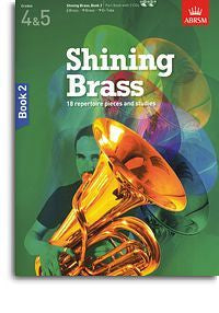 ABRSM Shining Brass Book 2 - Book/2CDs