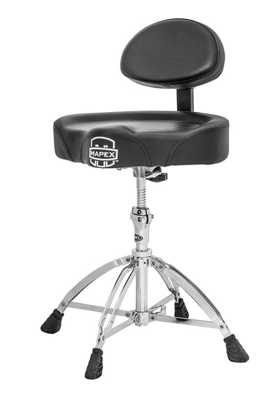(N) Mapex (T775) Drum Throne / Stool With Back Rest