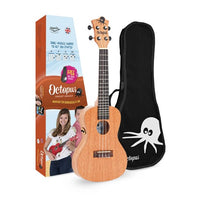 Octopus (UK205CE) Electric Acoustic Concert Ukulele - Natural