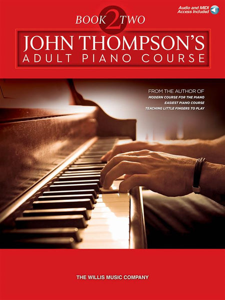 John Thompson's Adult Piano Course Book 2 & Audio