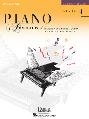Piano Adventures Lesson BooK - Level 4