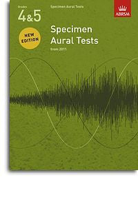 ABRSM Specimen Aural Tests - Grades 4-5 (2011+) Book Only