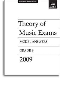 ABRSM Theory Of Music Exams 2009: Model Answers - Grade 8
