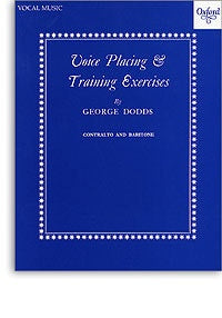 Voice Placing & Training Exercises - Contralto And Baritone