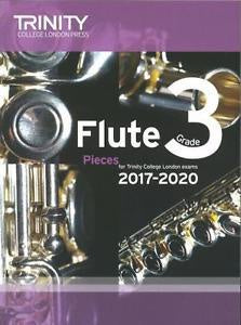 Trinity College London: Flute Exam 2017-2020 - Grade 3 (Score/Parts)
