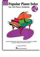 Hal Leonard Student Piano Library: Popular Piano Solos Level 2