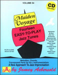 Abebersold: Maiden Voyage Vol. 54 - 14 / Fourteen Easy To Play Jazz Tunes