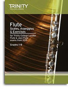 Trinity College London: Flute & Jazz Flute Scales, Arpeggios & Exercises From 2015