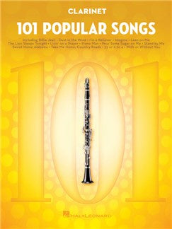 101 Popular Songs - Clarinet