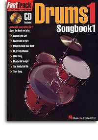 Fast Track: Drums 1 - Songbook One