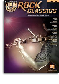 Violin Play-Along Volume 24: Rock Classics