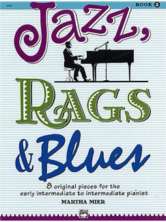 Martha Mier: Jazz, Rags And Blues - Book 2