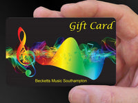 Becketts Music Ltd - Physical Gift Card