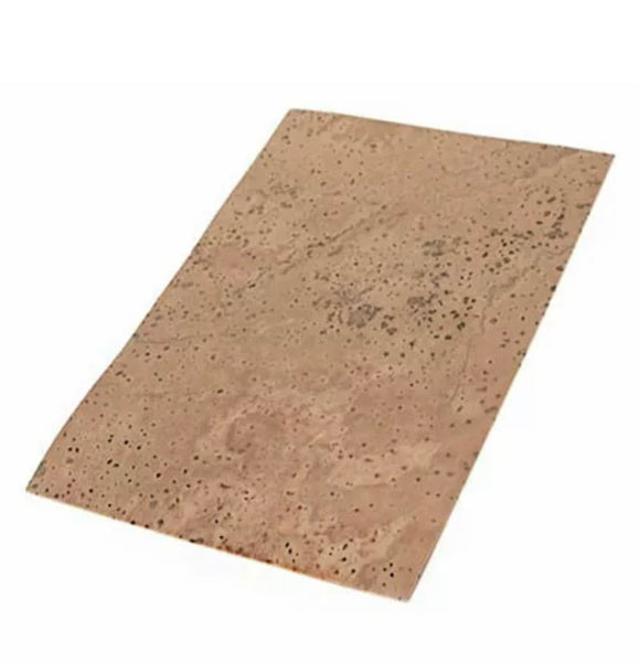 Sheet cork 2mm approx 50mm x 100mm