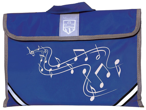 Montford (MFMC1BL) Music Carrier - Blue