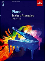 ABRSM Piano Scales and Arpeggios: From 2009 (Grade 3)