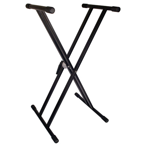 TGI (TGKS2) Double braced keyboard stand black