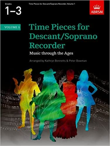 Time Pieces For Descant/Soprano Recorder - Volume 1