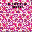 HEART & VALENTINES DAY INSPIRED PATTERN PRINTED HTV