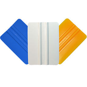 "Standard 4"" Squeegee - Blue,Yellow,White"