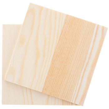 "Craft Wood - 4 1/2"" x 4 1/2"" - Kraftyville"