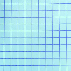 Blue Grid - Clear Medium Tack Transfer Tape with Release Liner - 12