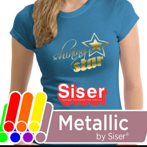 Metallic Siser Heat Transfer Vinyl