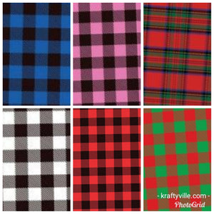 Siser  Color Print Easy  Buffalo's plaid htv with mask kraftyvuille