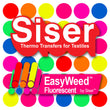 "15""x12"" Sheet - Siser EasyWeed - Fluorescent Colors - Kraftyville"