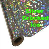 "25 Foot Roll of 12"" StarCraft Electra Foil  with 25 foot of Siser Easyweed, Heat Transfer Foil ROLLS"