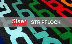 SISER STRIP FLOCK    'The Only Flock in the Industry that can be Layered On Itself'