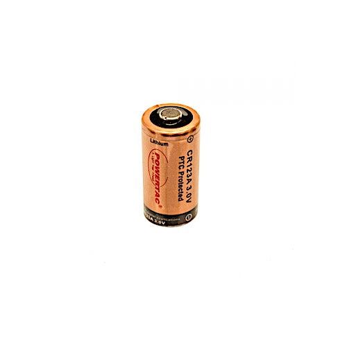 Powertac CR123A Batteries