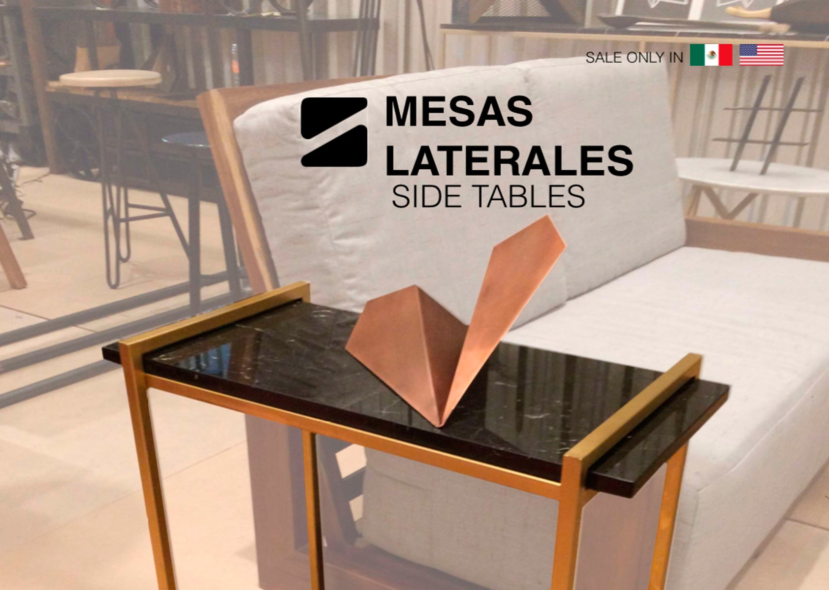 MESAS LATERALES // SIDE TABLES