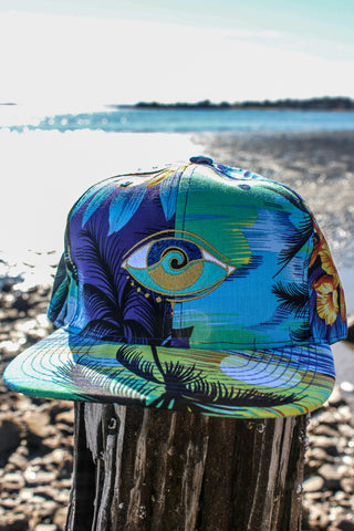 WHITE SEANOE BUCKET HAT