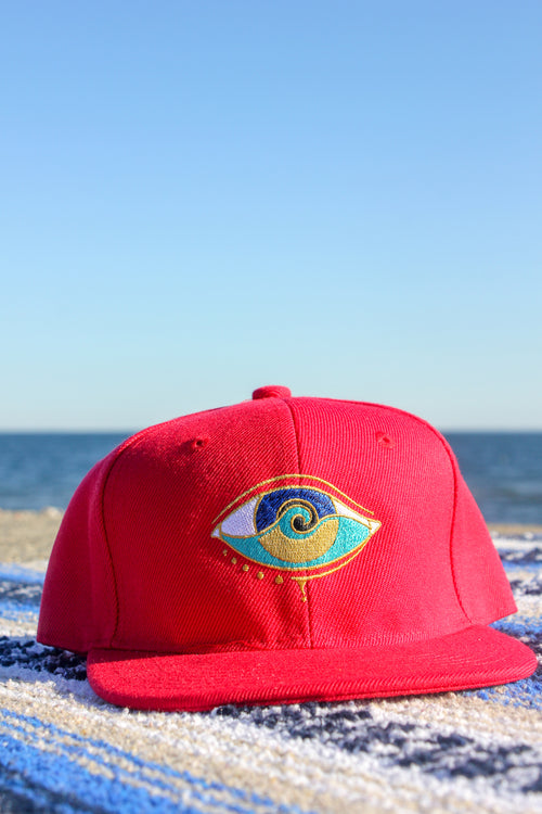 KIDS RED SEANOE SNAPBACK