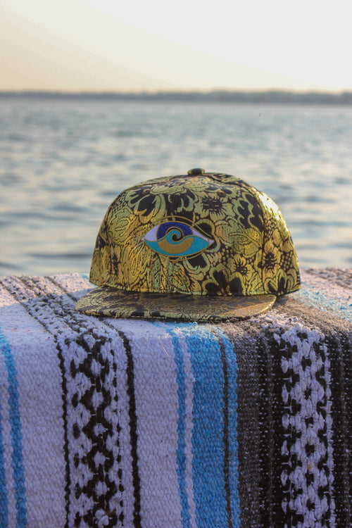 kids go for the gold embroidered SEANOE snap back hat