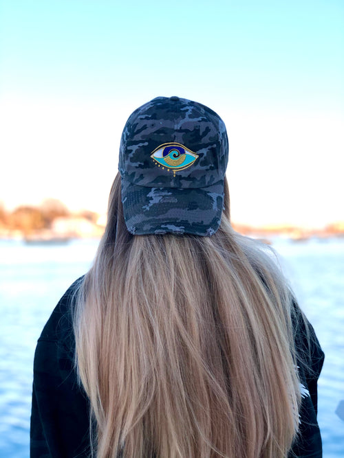 BLACK CAMO SEANOE DAD HAT