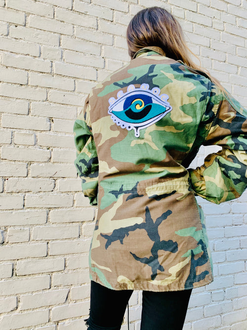 'Z' VINTAGE CAMO WINTER JACKET