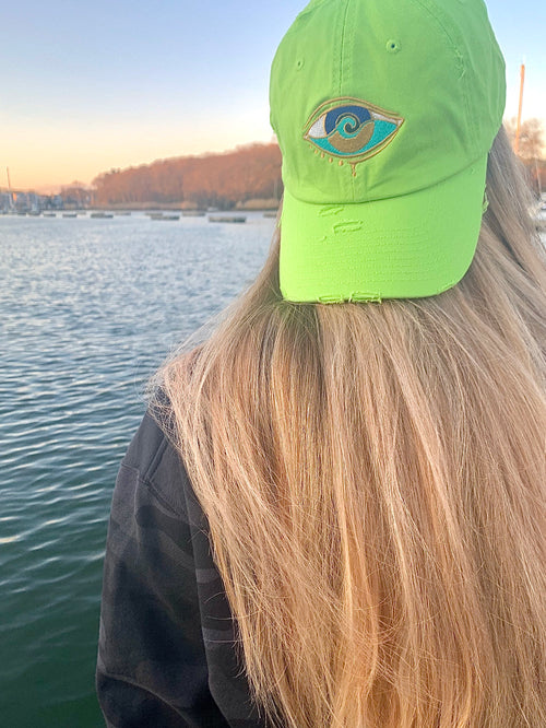LIME SEANOE DAD HAT