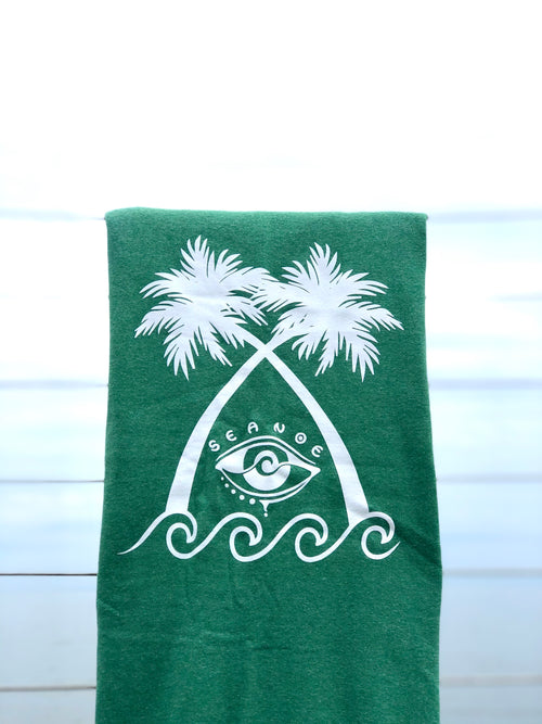 SOFTEST SEA GREEN SEANOE BLANKET