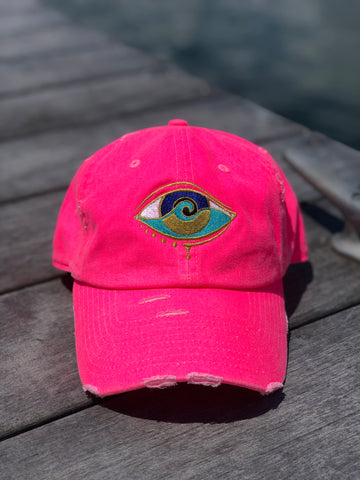 PINK SEANOE DAD HAT