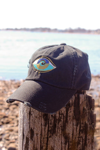 BLACK SEANOE TRAPPER HAT