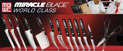Miracle Blade World Class Complete 13-Piece Knife Set + FREE SHIPPING + FREE GIFT