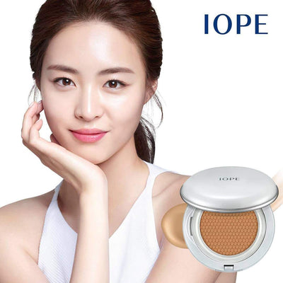 Authenthic IOPE Air Cushion Flawless - BUY 1 GET 1 with FREE PERFUME