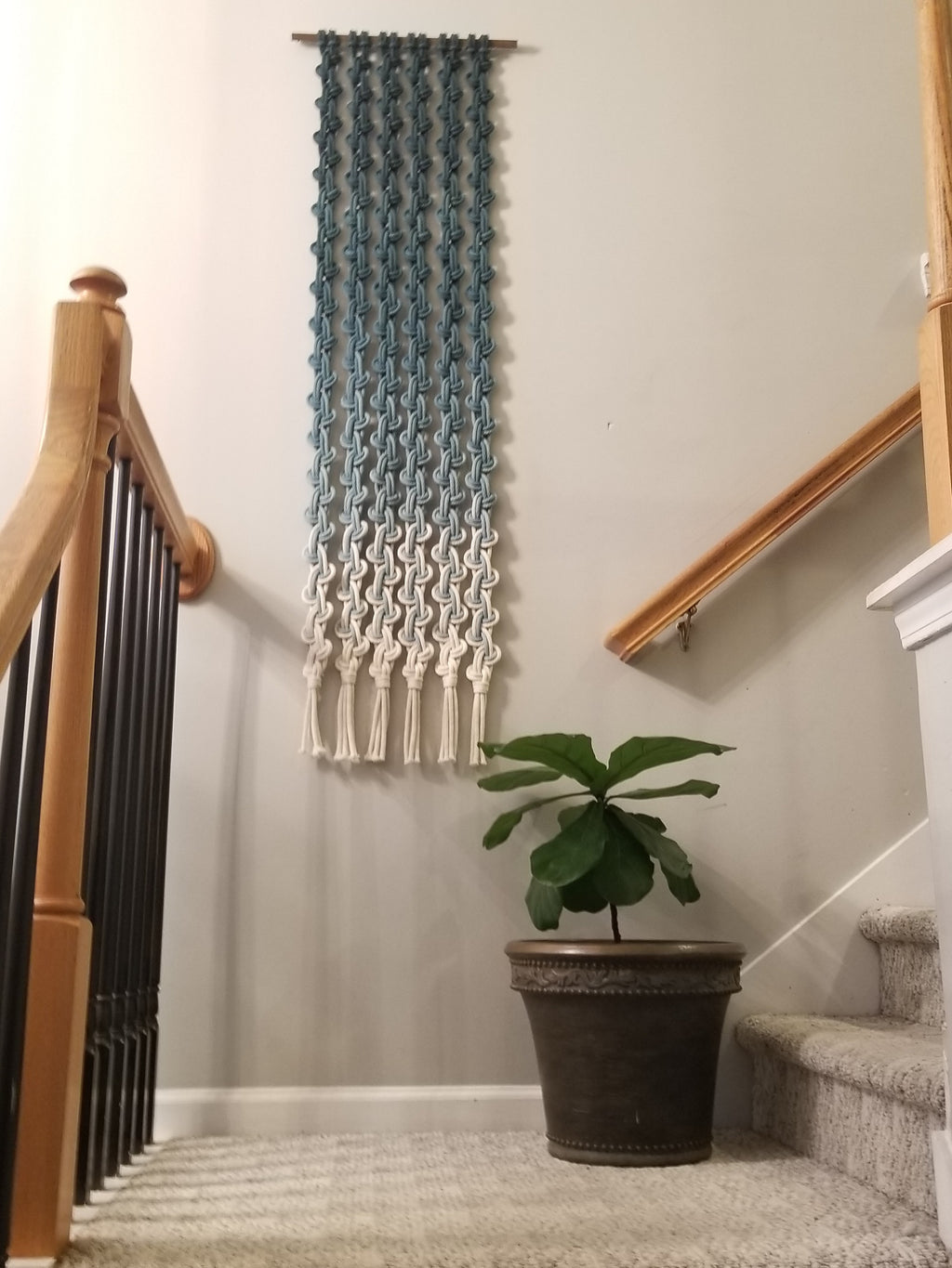 MARIVIA - Long Macrame Wall Art