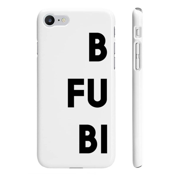 Best Fucking Bitches 1 - Slim Phone Case - White