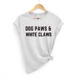 Dog Paws and White Claws 2 Tee